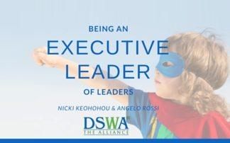 Blackboard – Being an Executive Leader of Leaders
