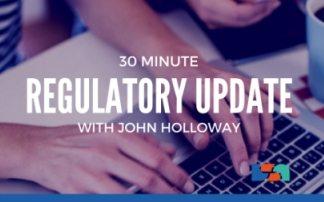 Blackboard: Regulatory Update with John Holloway