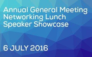 2016 AGM & Speaker Showcase