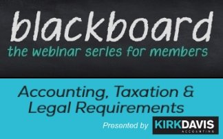 Blackboard – Accounting, Taxation and Legal Requirements