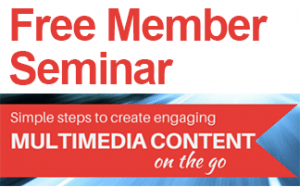 Creating Engaging content on the go