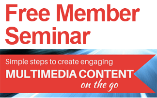 Create engaging multimedia content… on the go!