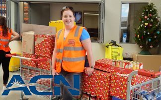 ACN supports Christmas Food Drive