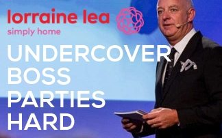 Undercover Boss Parties Hard