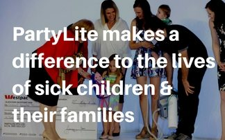 PartyLite makes a difference to the lives of sick children & their families