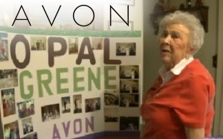 94 year old woman still selling Avon