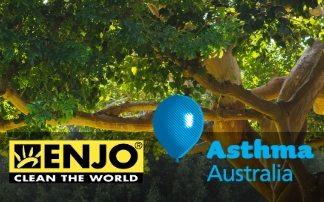 Enjo partners with Asthma Australia