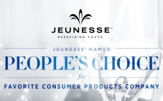 Jeunesse selected as the People's Choice for Favorite Consumer Products Company