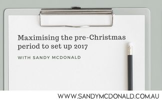 Blackboard: Maximising the pre-Christmas Period to Set Up 2017
