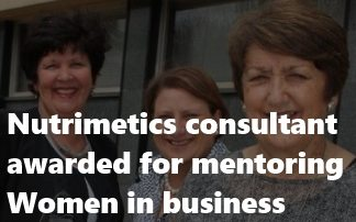 Consultant awarded for mentoring women in business