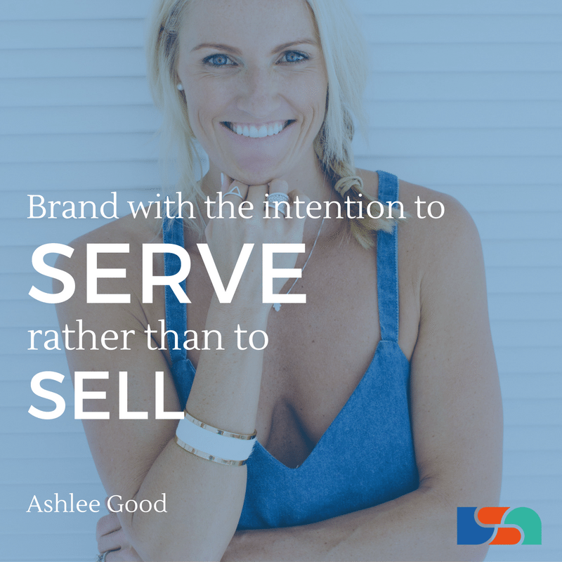 Quote on Personal Branding with Ashlee Good
