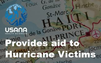 USANA provides Aid to Hurricane Victims