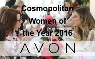 Cosmopolitan Women Of The Year 2016 With Avon