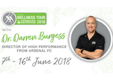 Arsenal FC High-Performance Manager Returns Home for the Herbalife Nutrition Wellness Tour