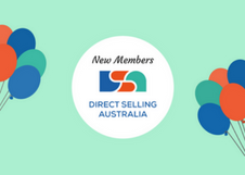 Direct Selling Australia Welcome New Members to the Association