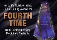 Herbalife Nutrition wins Social Selling Award for the Fourth Time in Five Years